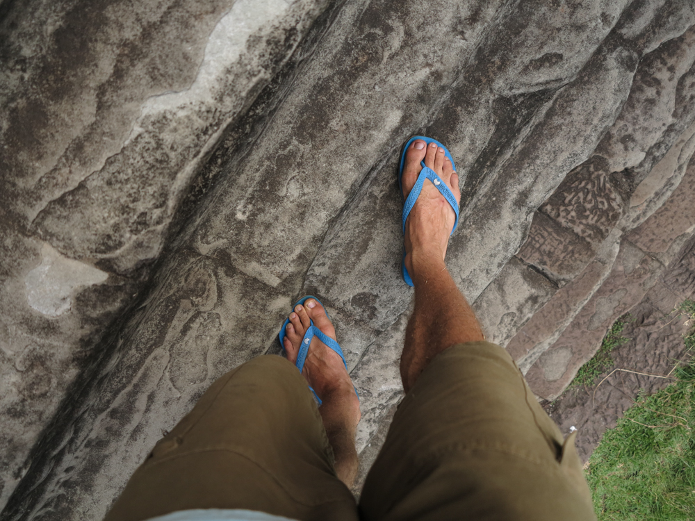 Climbing Temples Cambodia