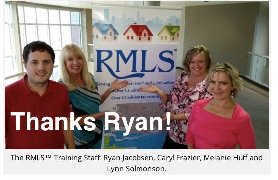 Realtor Instruction at RMLS office