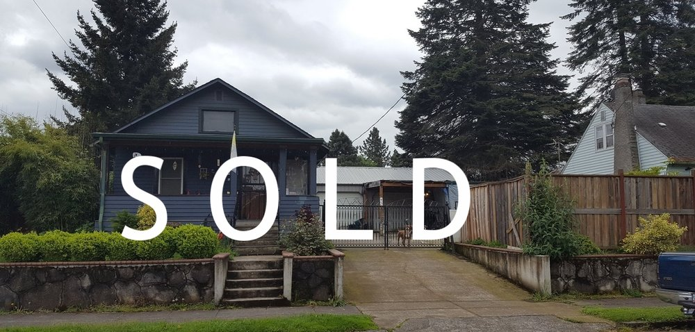 Sold Property in N Portland