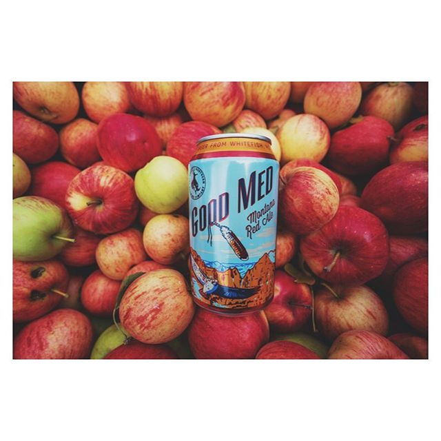 Fall calls for Good Med Montana Red Ale and apple picking. #fall #goodmed #redale #applepie #malty