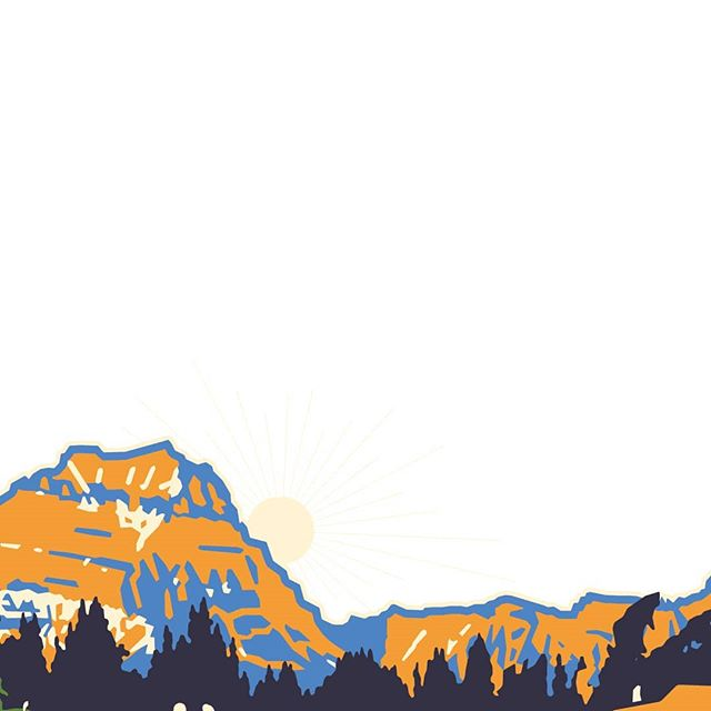 Recognize this view? Each of the mountains in our designs are inspired by real mountain ranges in Northwest Montana.
