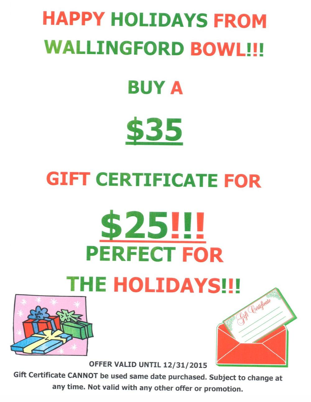 Holiday special! Get yours before the end of the new year!