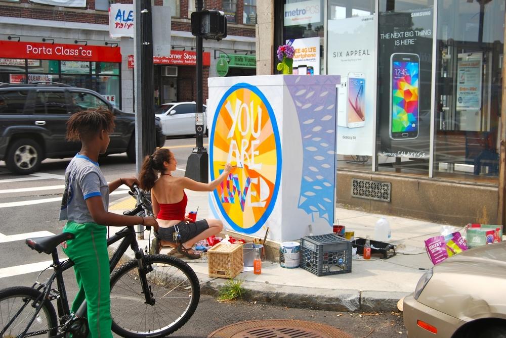 Paintbox Project, Boston, MA (Collaboration with Ada Solomon), 2016