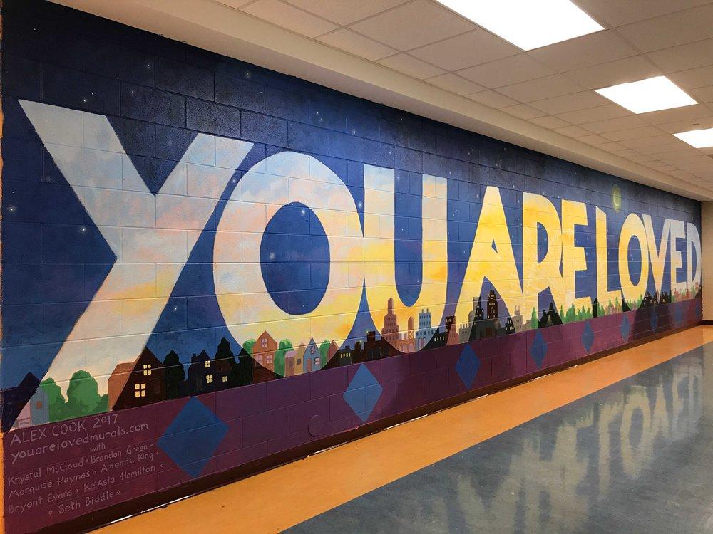 Mumford High School, Detroit, MI, 2017