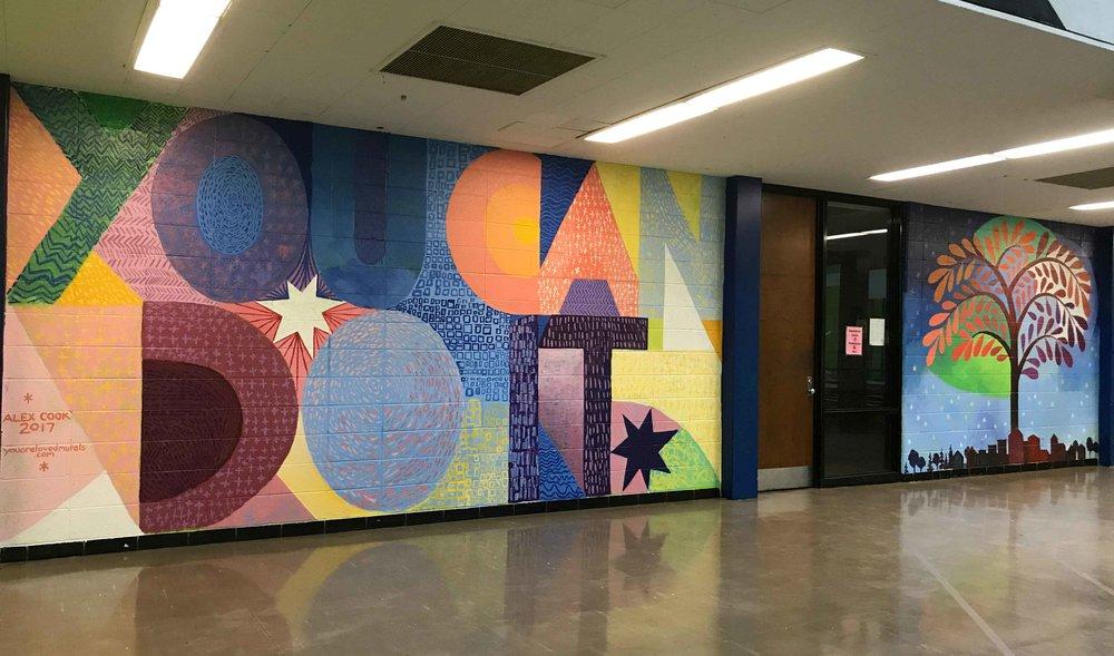 Sampson Webber Academy, Detroit, MI, 2017