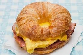 Gateaux Croissant Egg Sandwich