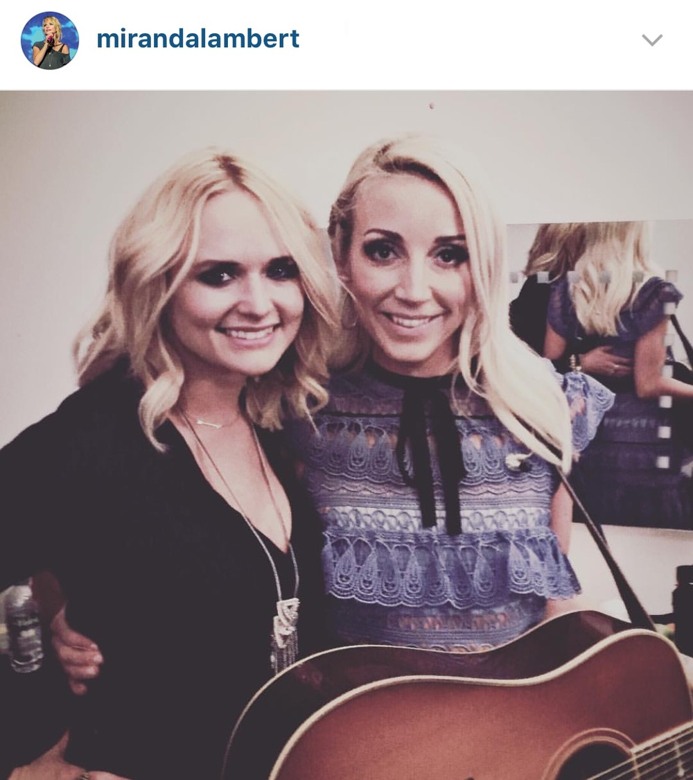 Miranda Lambert at the C2C Country Music Festival! Photo credit: Miranda Lambert's Instagram Account