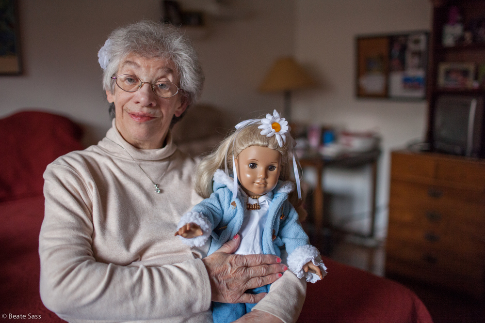 Mona is 73-years-old and is being cared for by her brother, Claude, and sister-in-law, Nancy. The stress of caring for Mona has taken a toll on the health of the caregivers. Mona is on the waiting list for a Medicaid Waiver. [Full story]