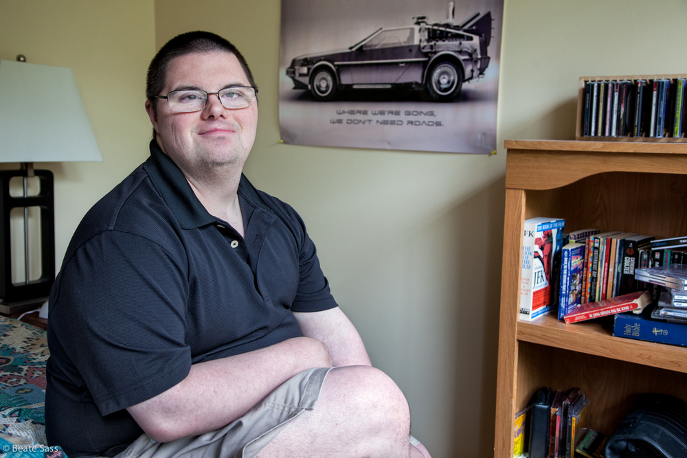 Patrick is able to live in residential housing in his community, have a job and lead a meaning life as a result of support through funding with a Medicaid Waiver. [Full story]