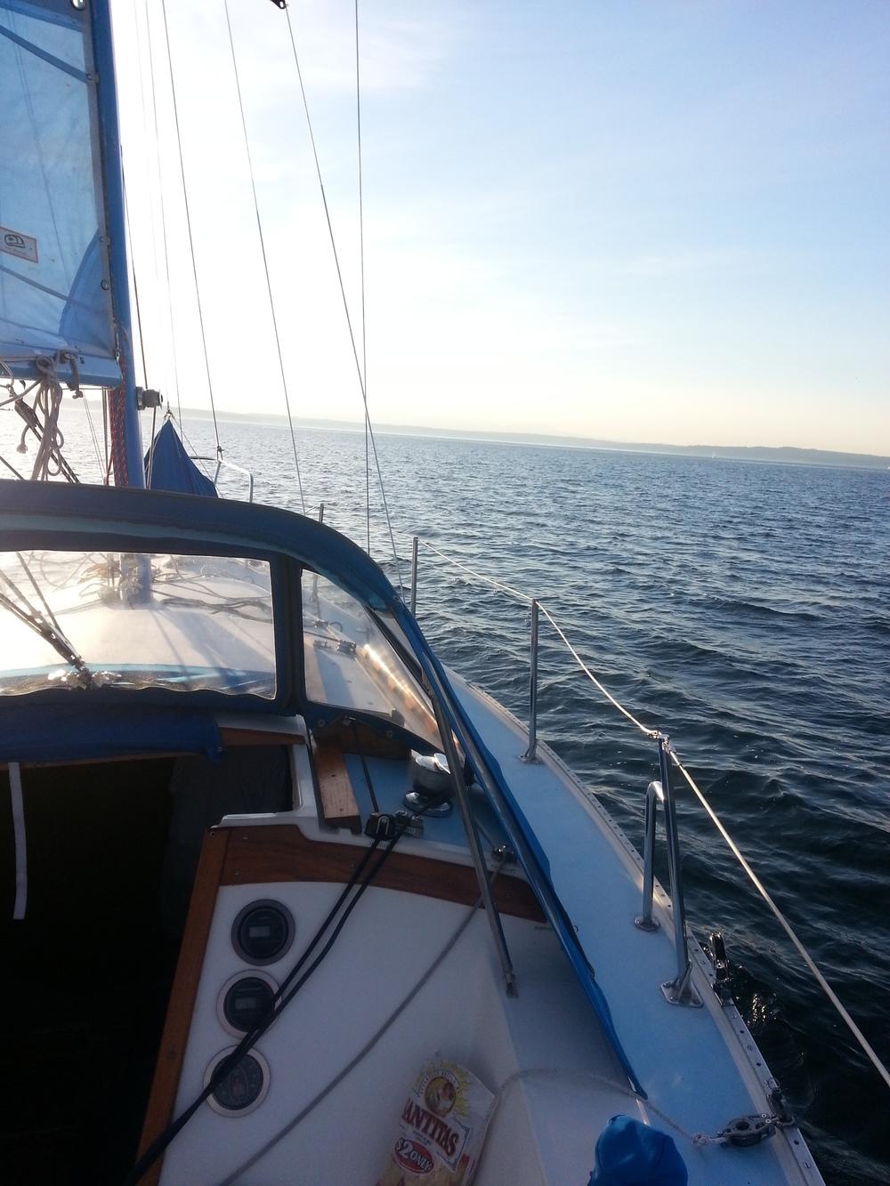 Set sail towards new lands - Puget Sound