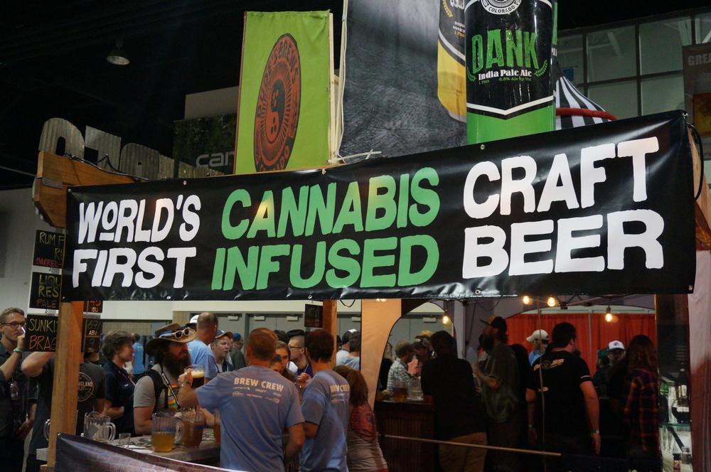 DANK IPA,Cannabis infused beer.