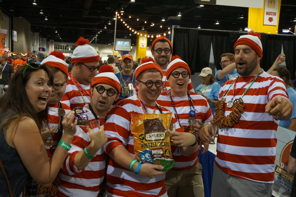 Bring your fest foot - or 'Waldo' - forward to the show