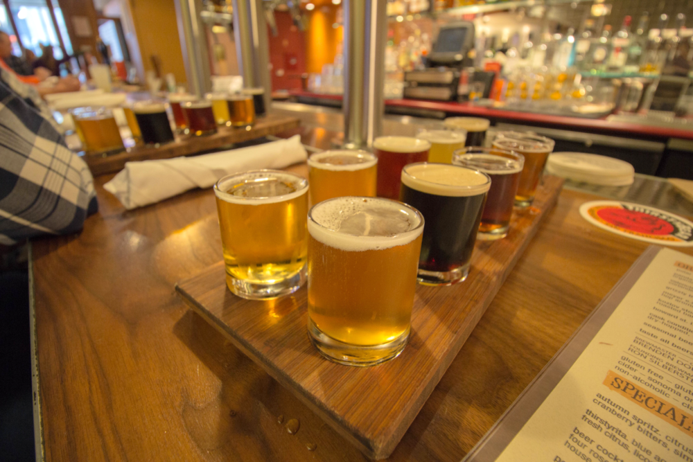Flights at ThirstyBear