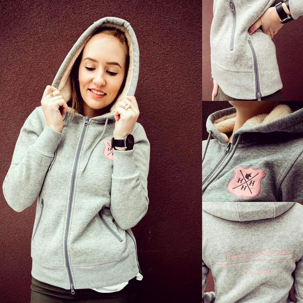 HoH Hoodie <3 In the photos modelling Riin Reitman from Estonia.