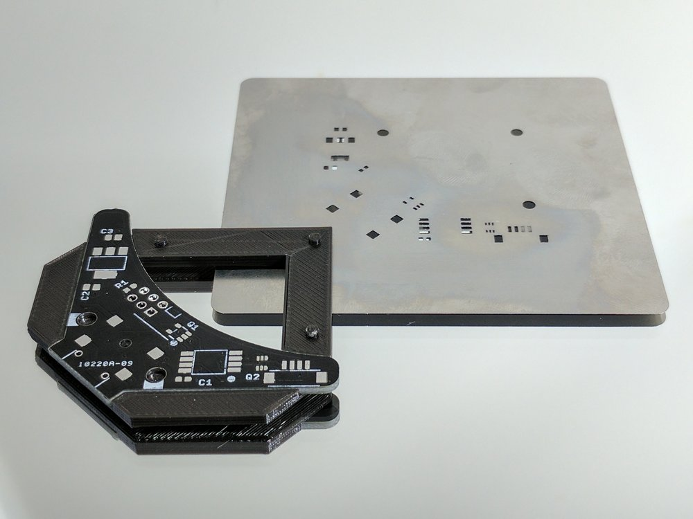 Stencil Jig Technique