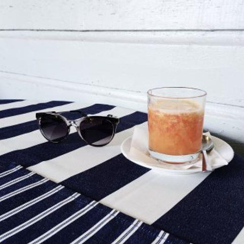 Iced caffeine + sunnies + a little touch of black and white = best way to fight the 3 PM slump 👊#kinsleyspring2016  #kinsleyshop #monochromatic #icedlatte #thekinsleynewandnow