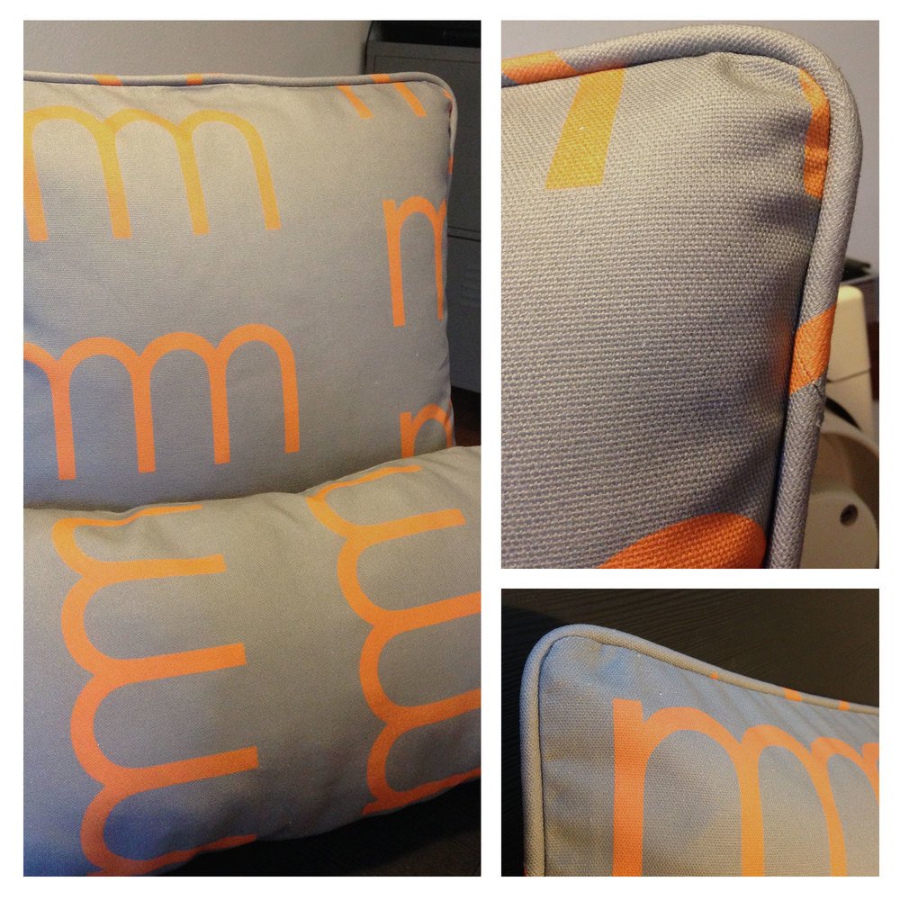 """M&M Cushion"""