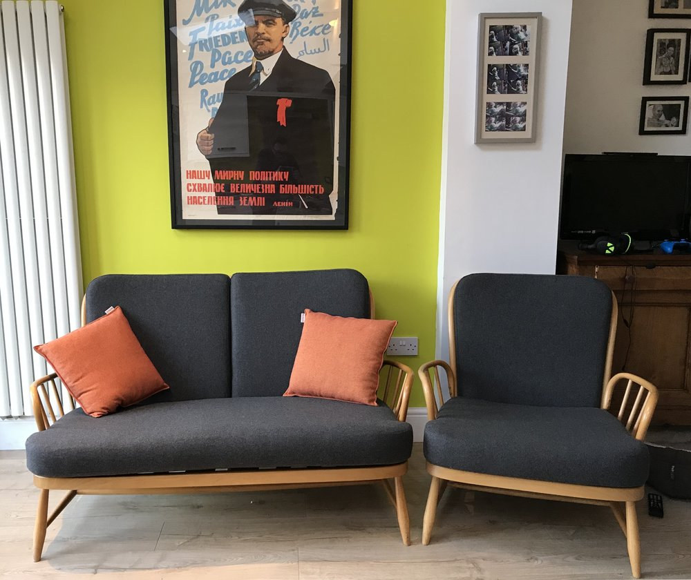 New Ercol Cushions