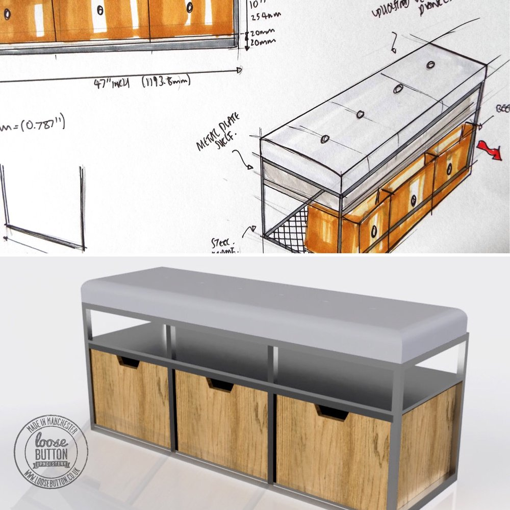 From design concept, prototyping and manufacture we can create bespoke furniture that fits your requirements...more coming soon!
