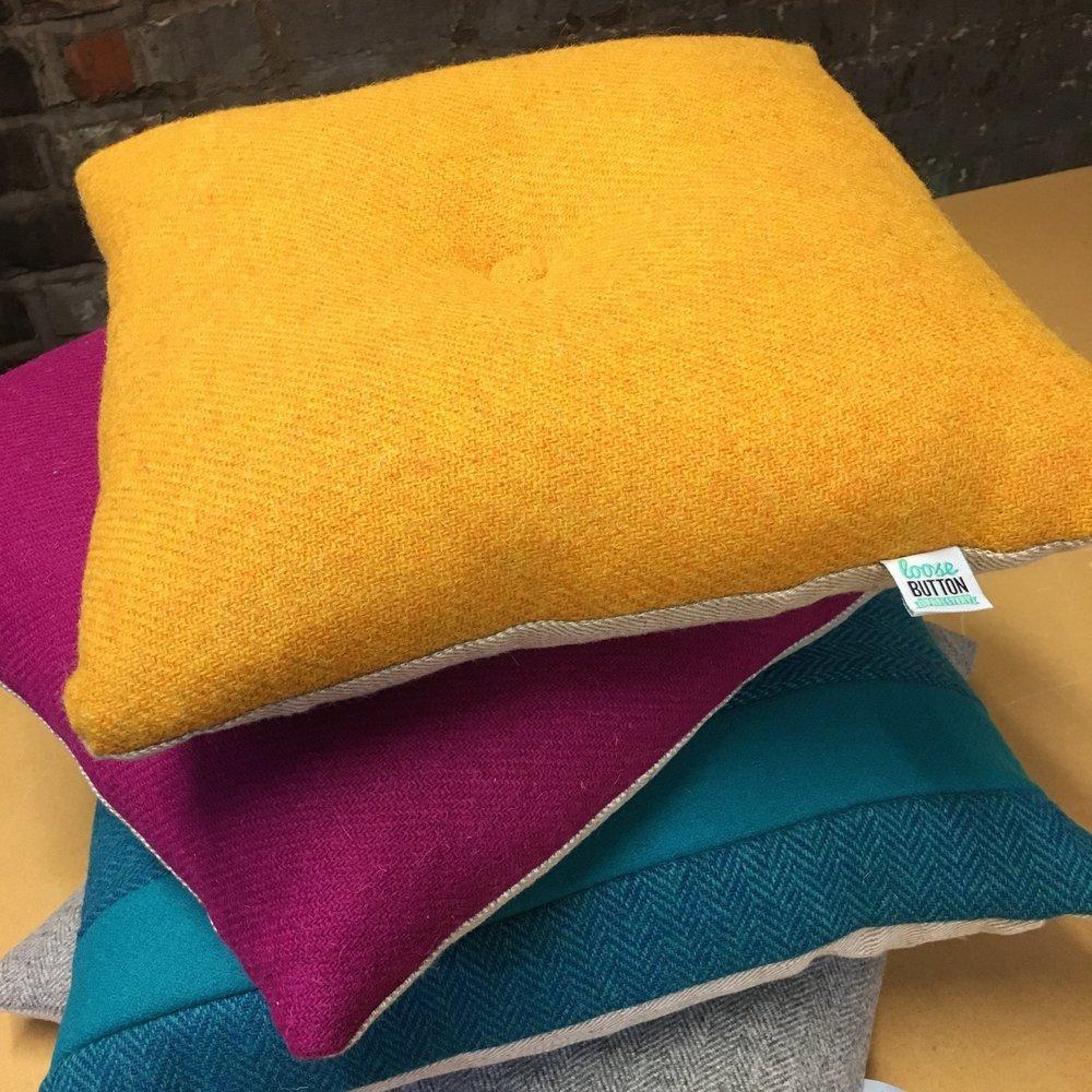 Harris Tweed & Wool Cushions - Classic Tweed & Wools