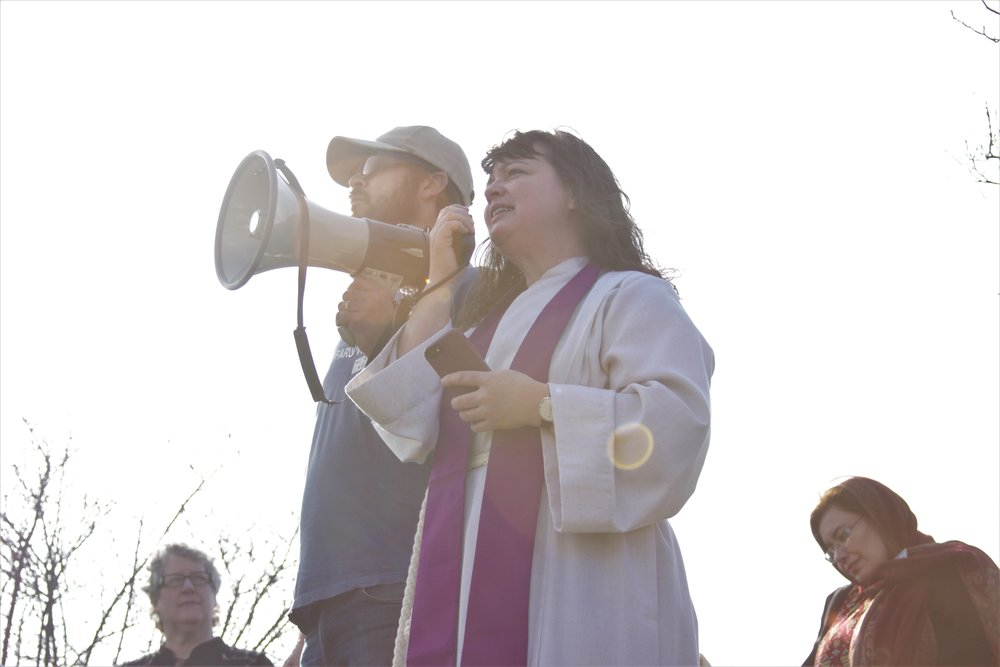 Rev. Laura Young, pastor of Summit UMC in Columbus, OH draws on scripture to elevate the struggle of farmworkers seeking justice and the people of faith and conscience that support them nationwide