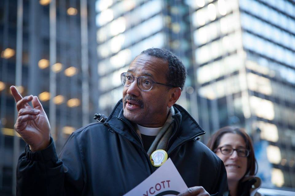 Rev. Michael Livingston, Senior Executive Minister at The Riverside Church in the city of New York