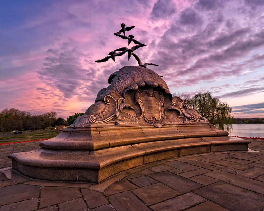 The Navy-Merchant Marine Memorial - Sony A7R3 --- 6:14am -- Sony 16-35/16mm, 1/30, F/7.1, ISO 100