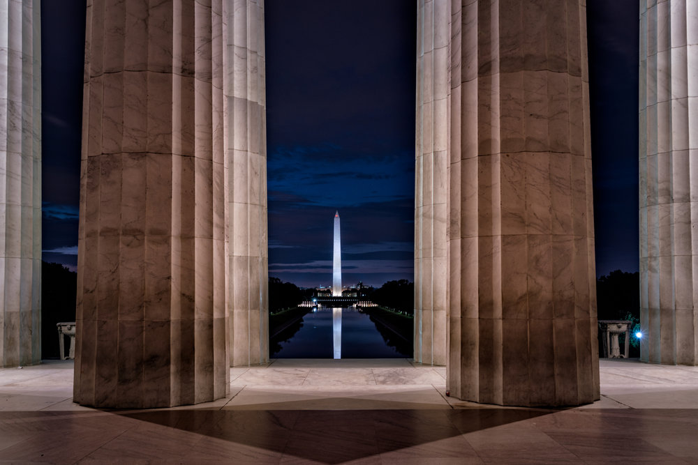 A little bonus image that I took this week that I had planned but never had a chance to shoot it as typically I never find the Lincoln empty enough to get it. This week I got the shot and I really like how it came out.