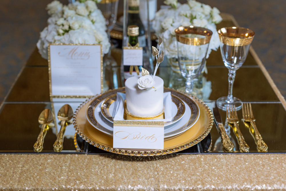 Savoy Event Venue Gold and White Wedding Inspiration