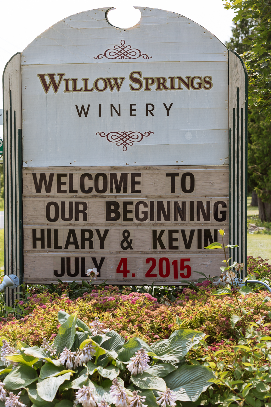 Willow Springs Winery Summer Wedding, Stouffville, Ontario: Hilary & Kevin, July 4, 2015