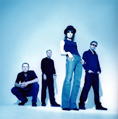 Andy Hobson, Martin Chambers, Chrissie Hynde, Adam Seymour
