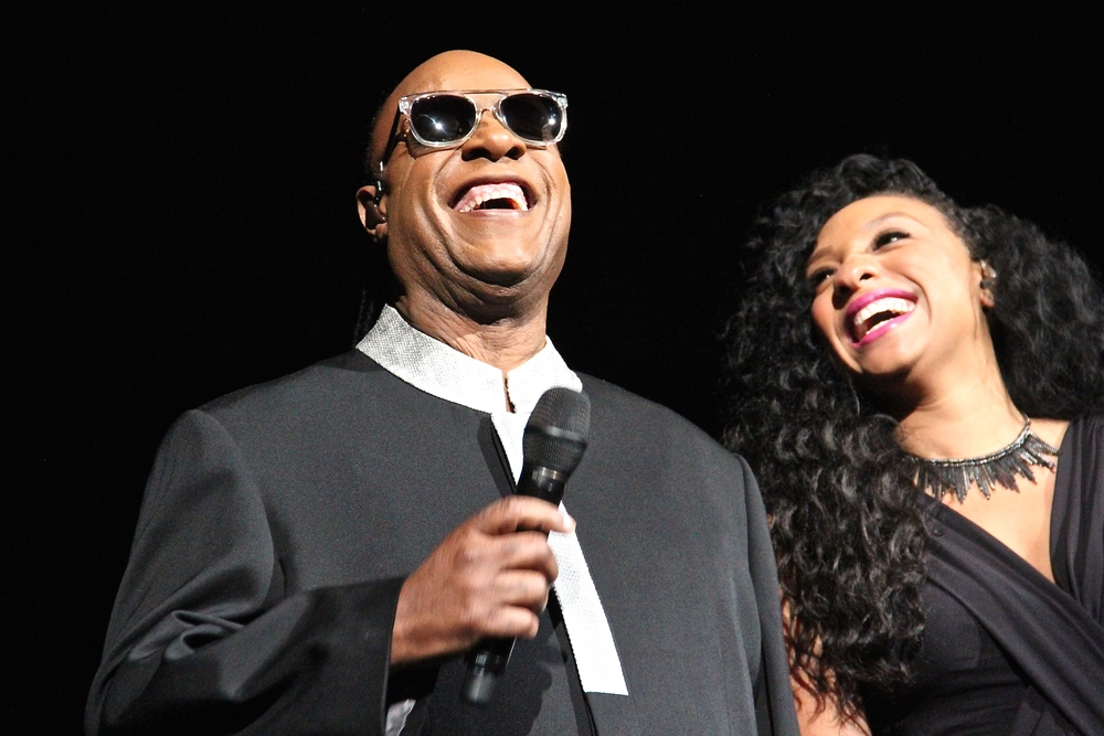 Stevie Wonder at the Sprint Center, 10/23/2015