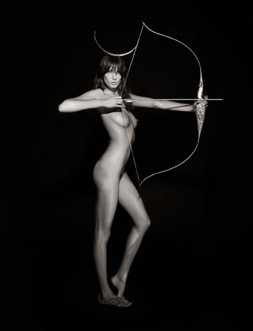 Image ||Daria Werbowy,2011Pirellicalendar by Karl Lagerfeld
