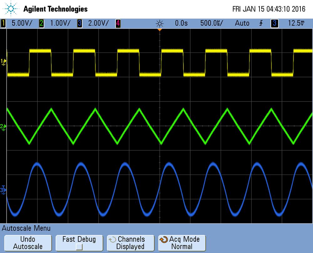 Solex Agitator: Waveforms
