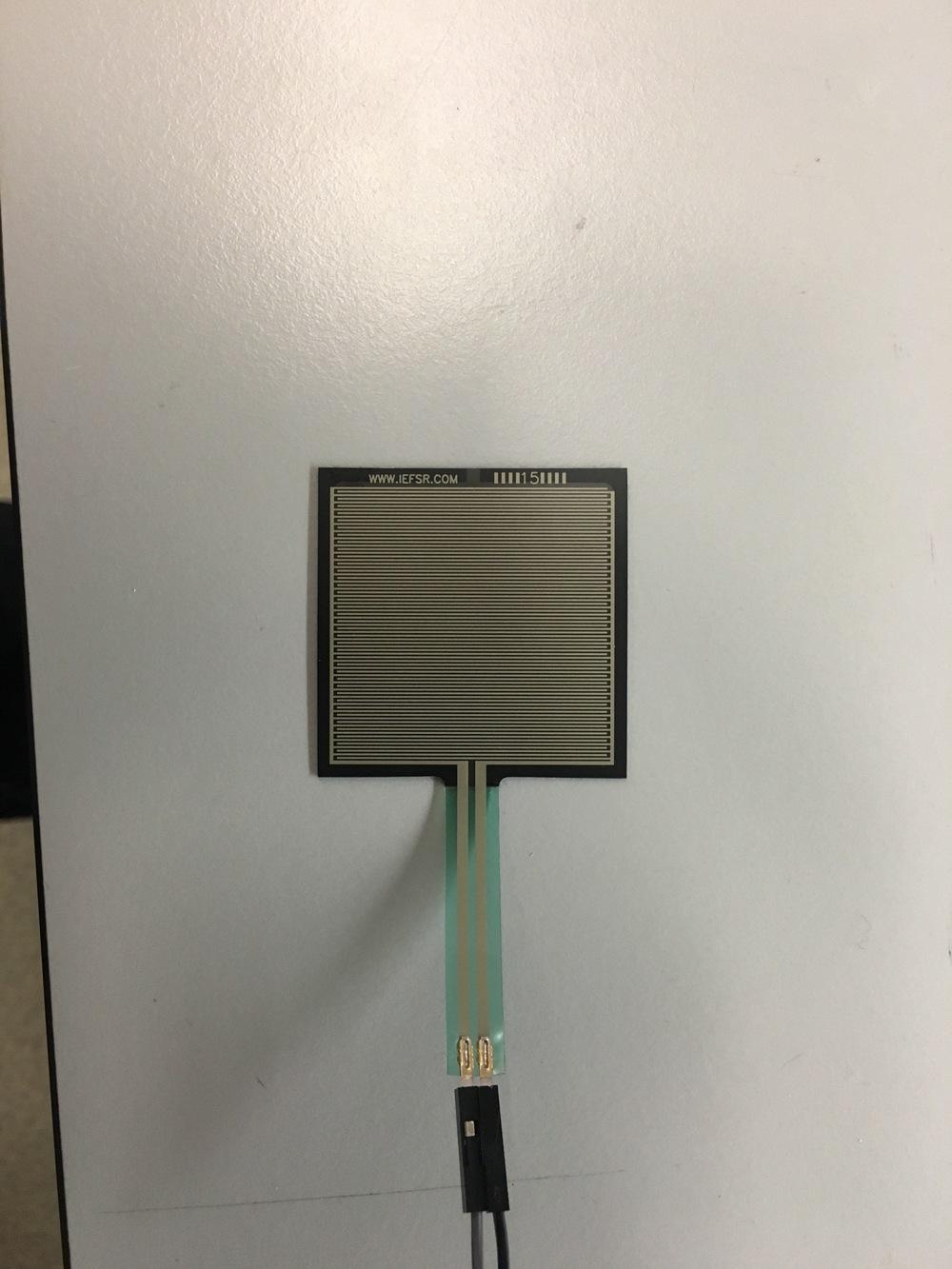 The Force Sensor ( FSR 406 )