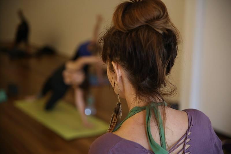 Flow Yoga Center Washington DC Debra Mishalove, photo by drew xeron
