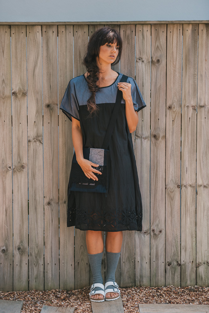 Nasturtium slip, Maude dress & East bag