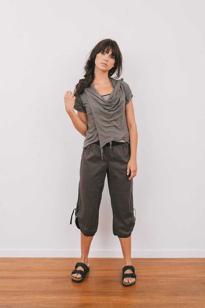 Quirk shrug short sleeve, Selma top & Celeste pant