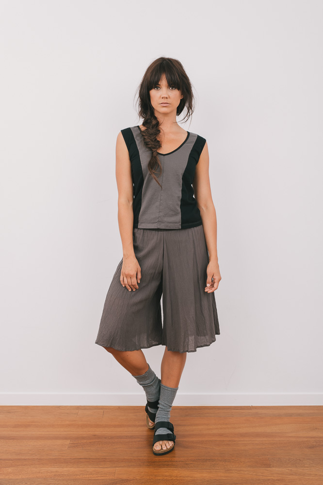 Periwinkle tank & Cassidy culotte