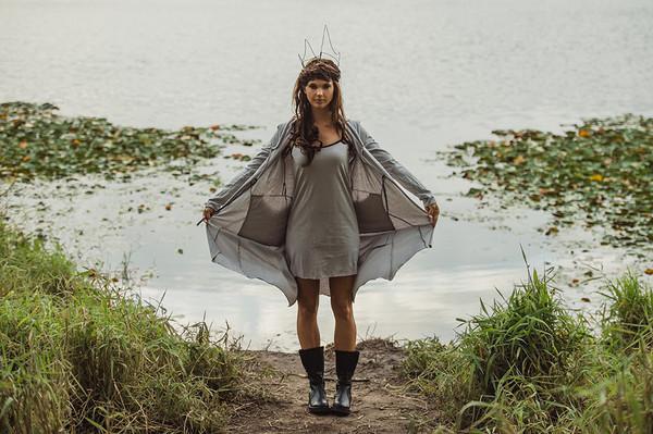 Nasturtium slip & Annabel coat