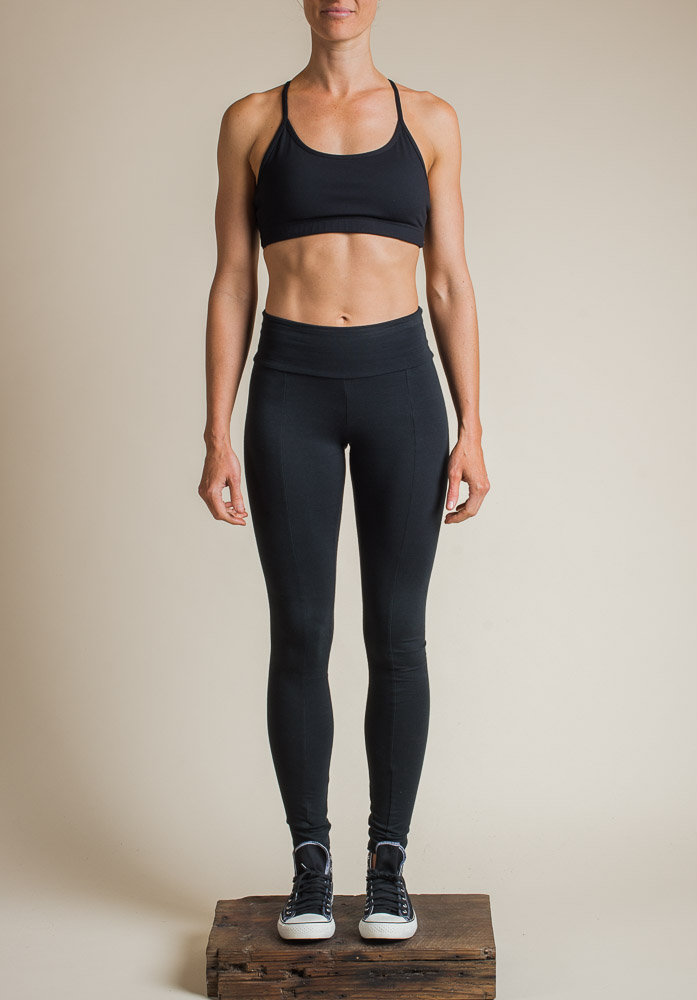 LARA LONG LEGGINGS BLACK