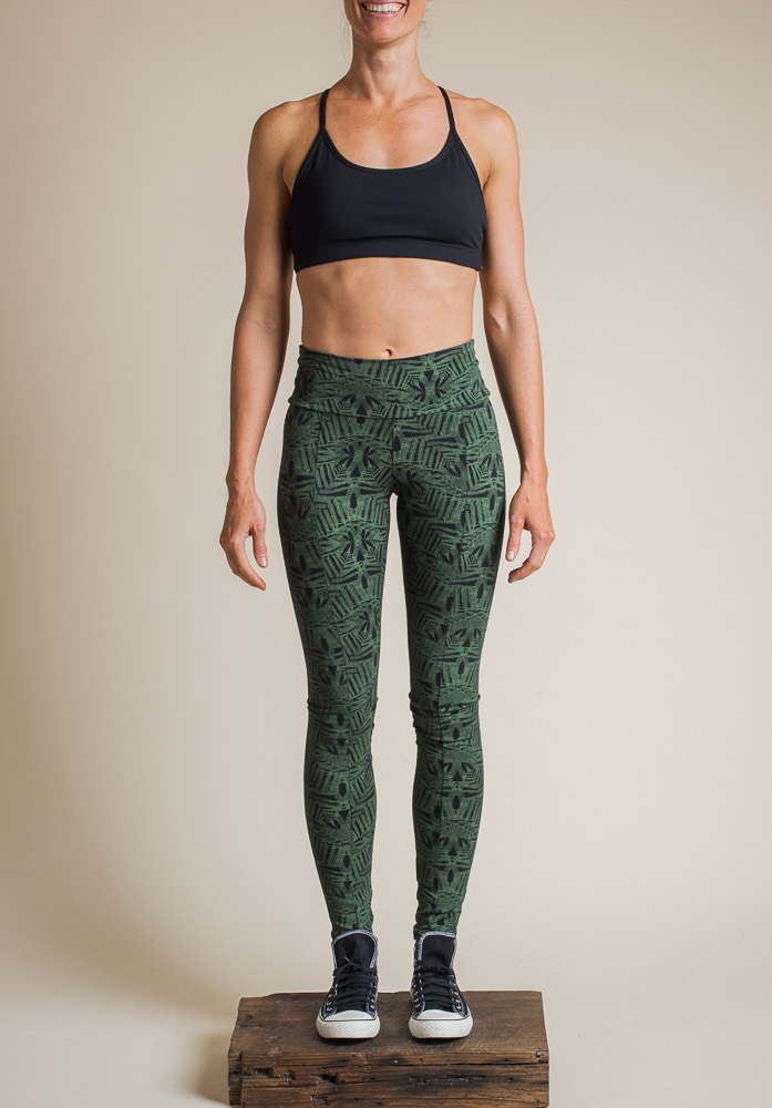 FERN LEGGINGS FERN PRINT