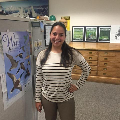 Viviana Ruiz, Volunteers & Service Specialist, US Forest Service