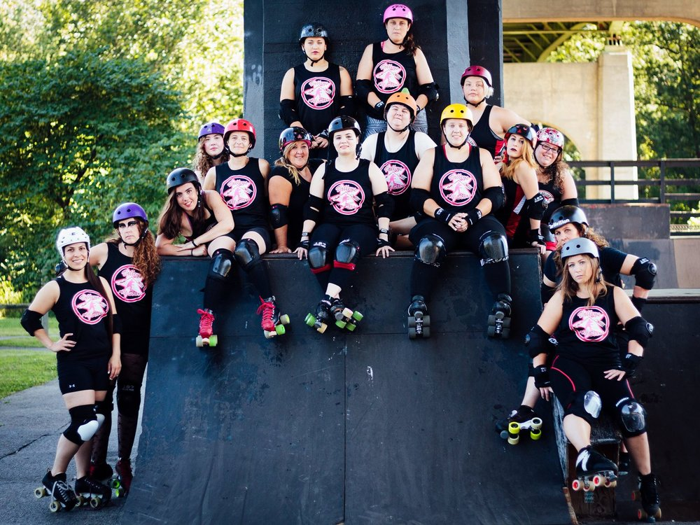 SCRG and NRV present - Valleys All Stars