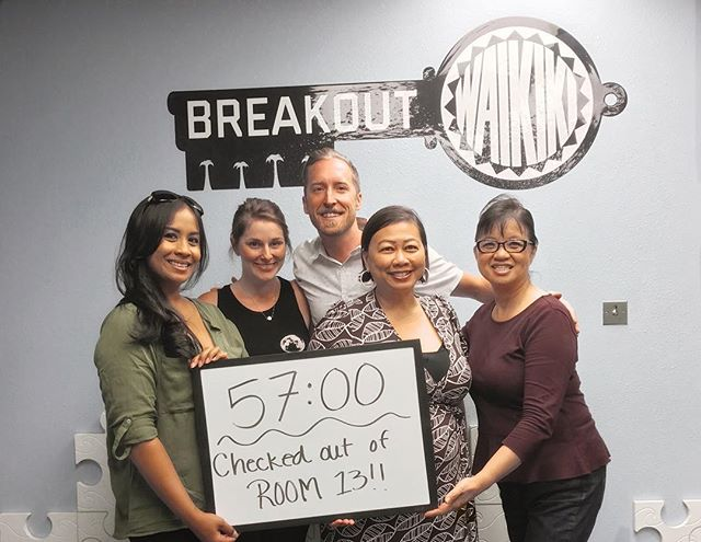 Happy Saturday all!  The Concierge Association of Hawaii board members did a special team building retreat @breakoutwaikiki yesterday.  We made it!  #CAH #luckywelivehawaii #concierge #conciergelife #livingaloha #conciergehawaii #Hawaiianhospitality #summer #breakouthawaiiwaikiki #breakouthawaii🔑 #teambuilding
