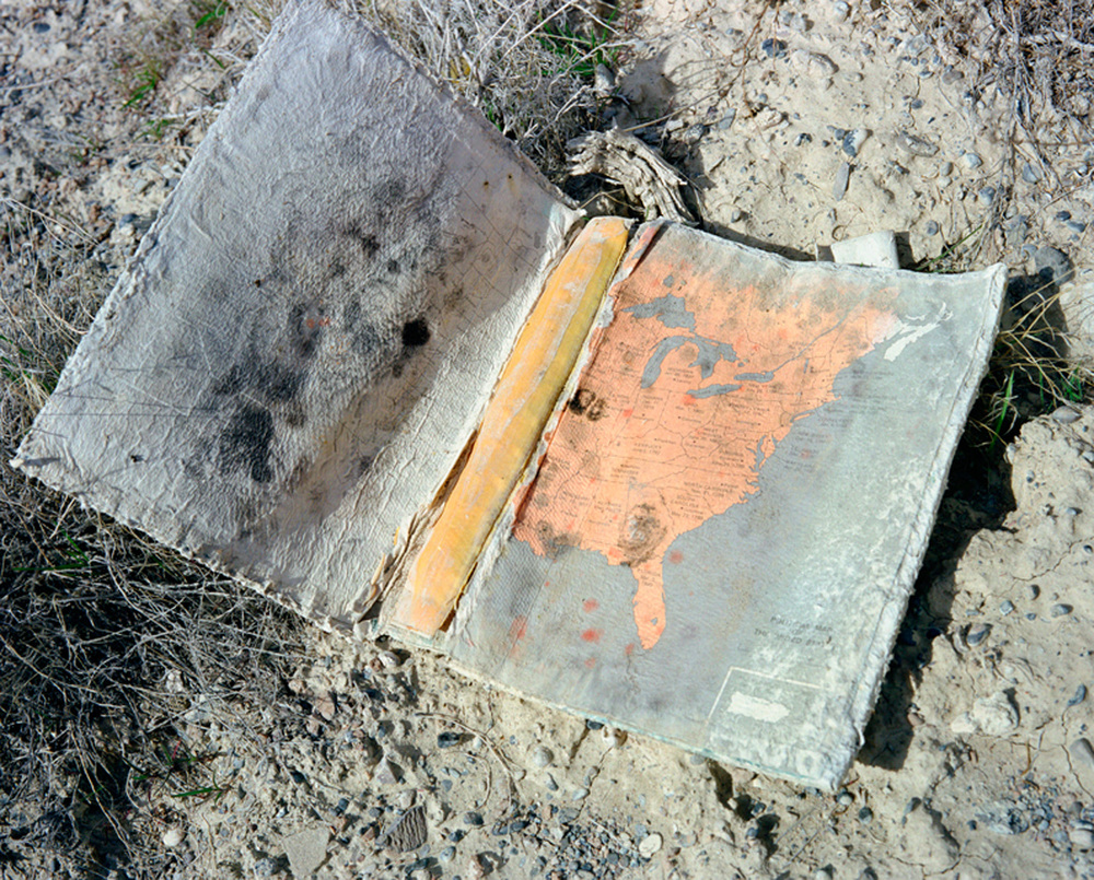 American history book found in the desert near Wendover