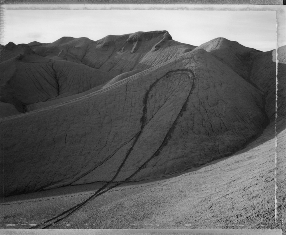 Dirt-bike loop, west of Hanksville, Utah, 1991