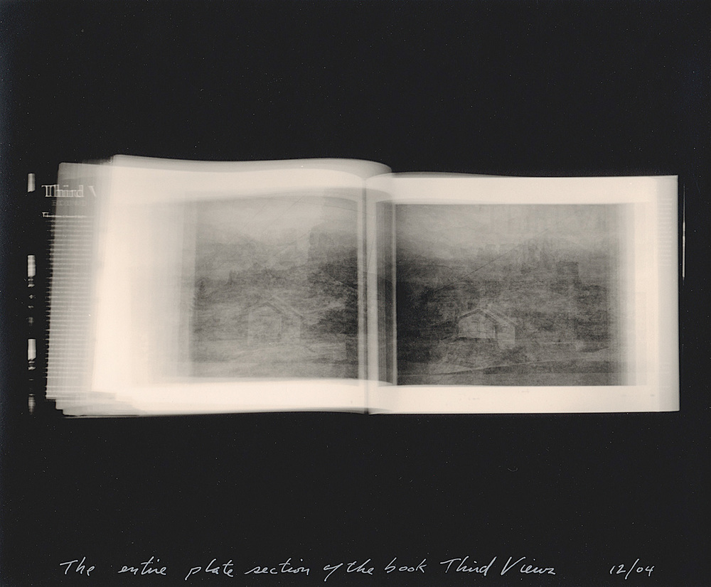 The entire plate section of the book Third Views, 2004