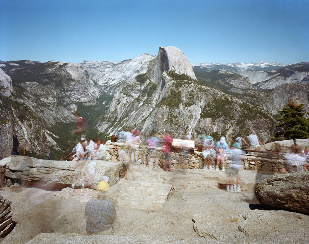 Eight minutes at Glacier Point