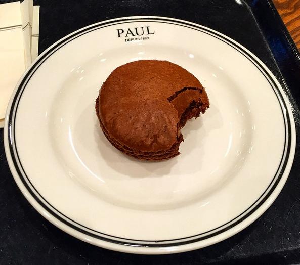 Broke my dessert rule for Paul!